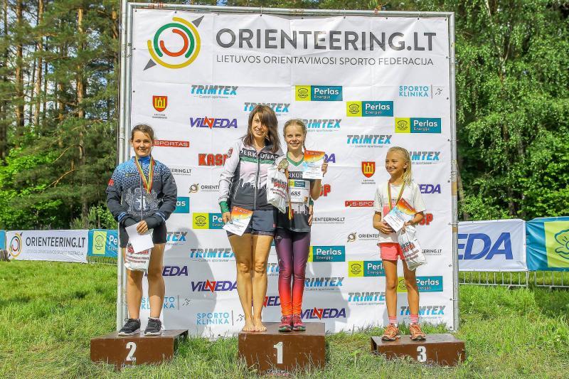 Lietuvos vaikų, jaunučių, jaunių orientavimosi sporto čempionatas vidutinėje trasoje