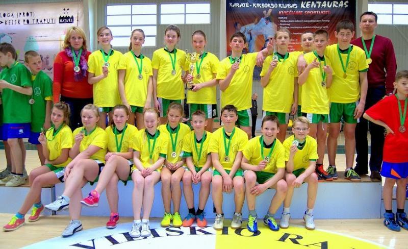 """Širvintų """"Drąsūs, stiprūs, vikrūs"""" komanda eilę metų stipriausių Lietuvos komandų gretose"""